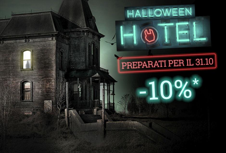 10% di sconto sugli articoli per Halloween