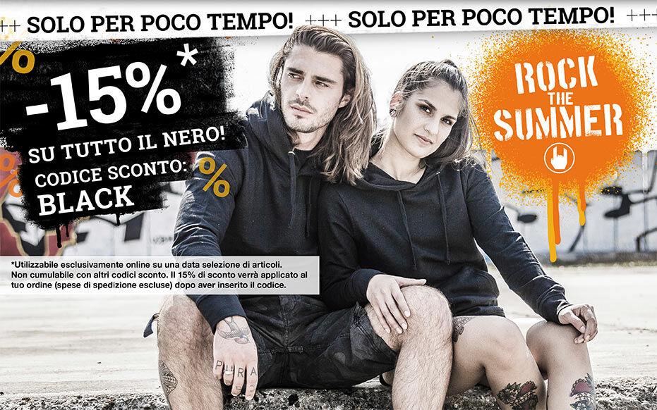 -15% SU TUTTO IL NERO!