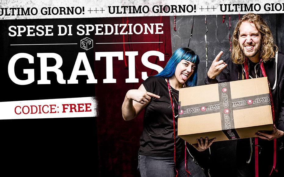 SPESE DI SPEDIZIONE GRATIS!*