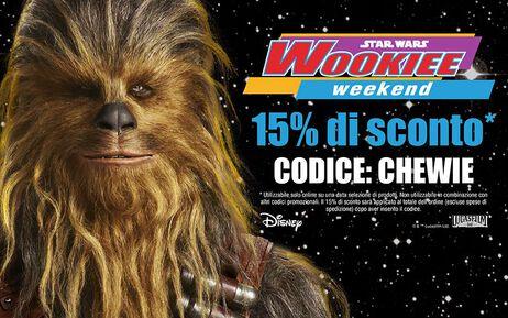 Festeggiamo il Wookiee Weekend!