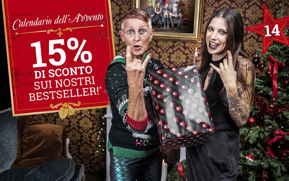 15% di sconto sui nostri bestseller!*