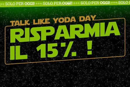 15% di sconto sul merch di Star Wars!