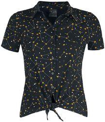 Celestial Stars Short Blouse