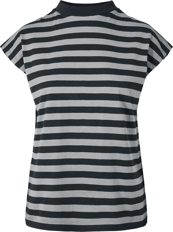 Ladies Y/D Stripe Tee
