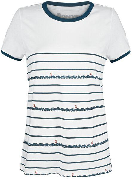 Running Stripe T-Shirt Tutti i prodotti: Ponyo sulla scogliera