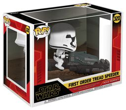 Episode 9 - The Rise of Skywalker - First Order Tread Speeder (Movie Moments) Vinyl Figure 320