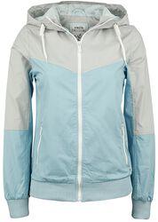 Ladies Block Zip Jacket