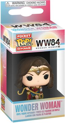 1984 - Wonder Woman with Lasso Pocket POP! Keychain