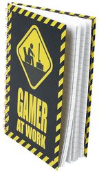 Gamer At Work Notebook