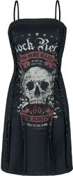 Rock Rebel Short Dress with Lacing