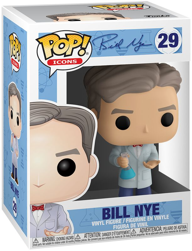 Icons - Bill Nye Vinyl Figur 29