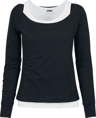 Ladies Two-Coloured Longsleeve