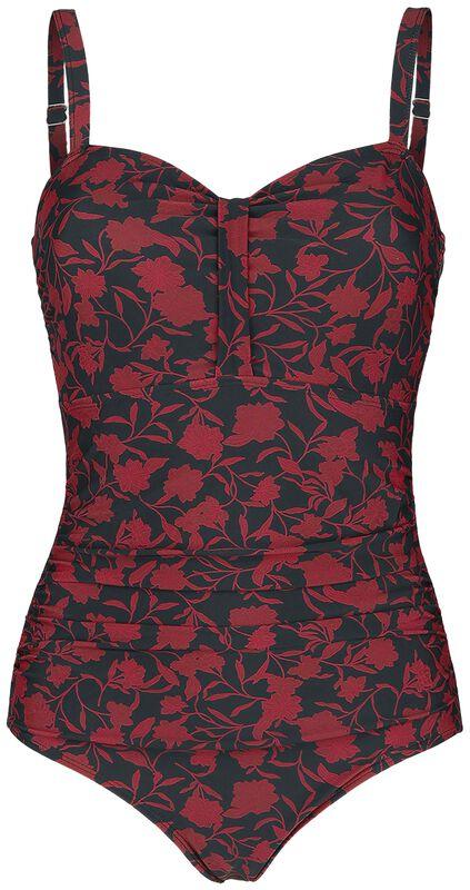 Dark Flower Swimsuit