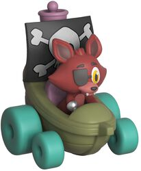 Super Racers  - Foxy the Pirate Vinyl Figure