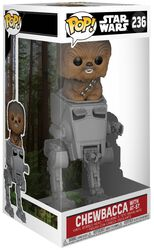 Chewbacca with AT-ST Deluxe Pop! Vinyl Figure 236