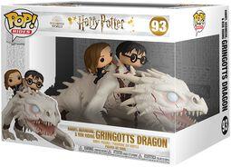 Harry, Hermione & Ron Riding Gringotts Dragon (Pop Rides) Vinyl Figure 93