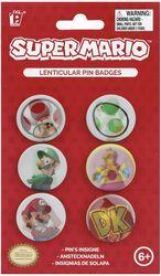 Super Mario Pin Set