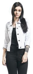 Debra White Denim Jacket