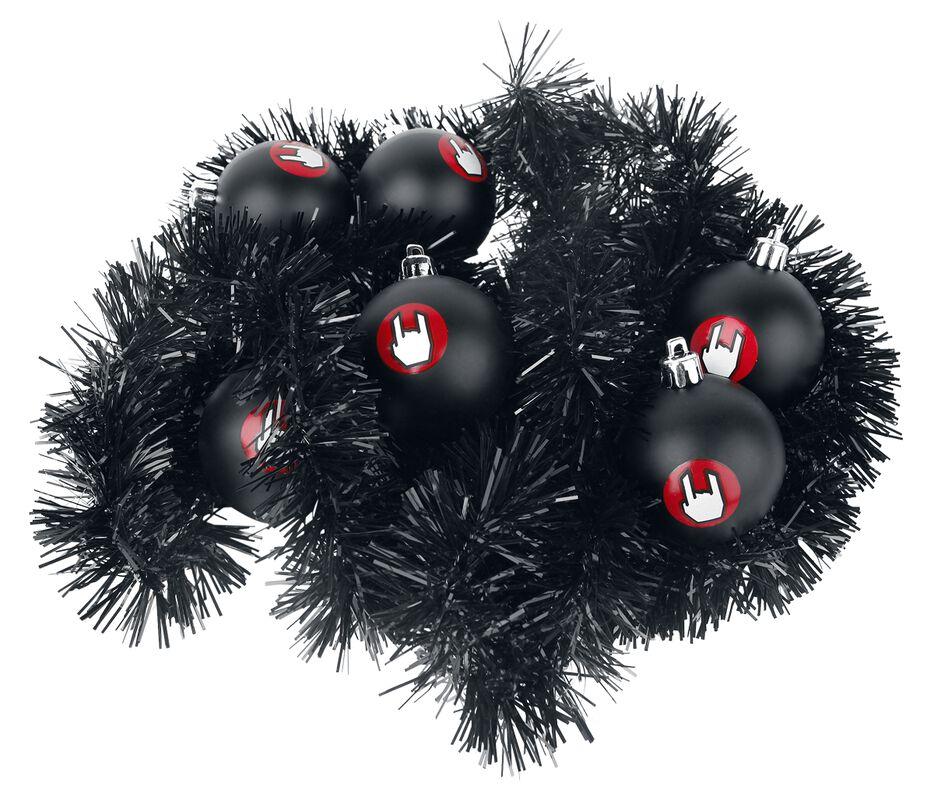 Palline di Natale con decorazione