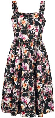 Colourful Garden Swing Dress