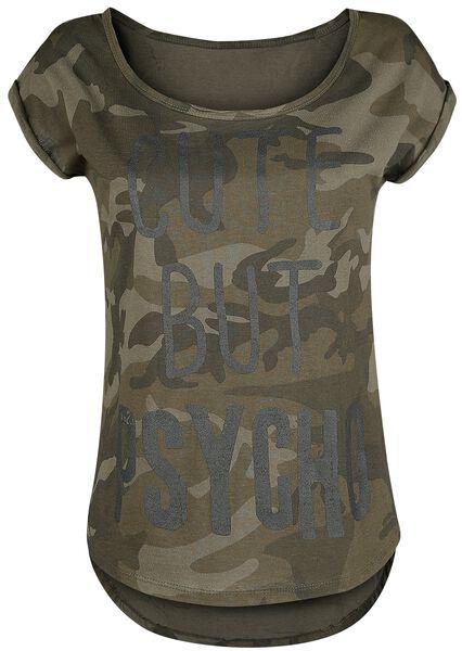 Cute But Psycho T-Shirt Tutti i prodotti: Slogans
