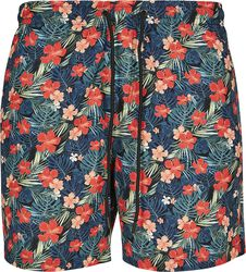 Tropical Pattern Swim Shorts
