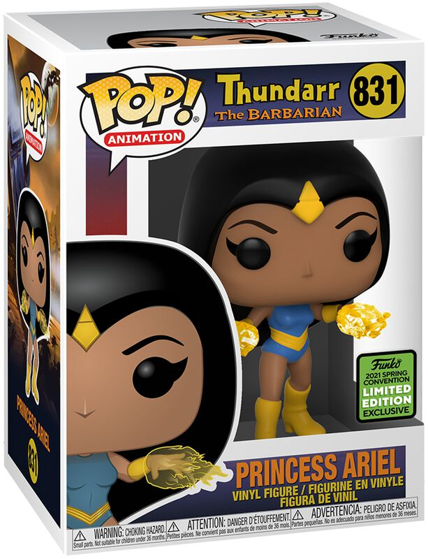 ECCC 2021 - Princess Ariel (Funko Shop Europe) Vinyl Figure 831