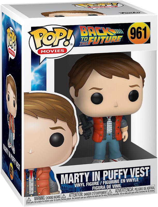 Marty in Puffy Vest Vinyl Figure 961