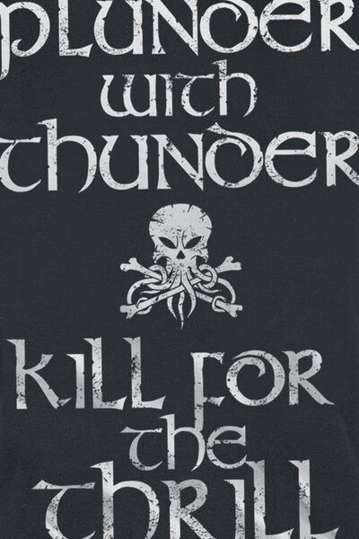 Plunder With Thunder T-Shirt 1 Commento