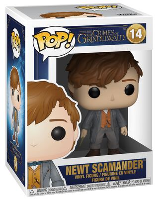 The Crimes of Grindelwald - Newt Scamander (Chase Edition Possible) Vinyl Figure 14
