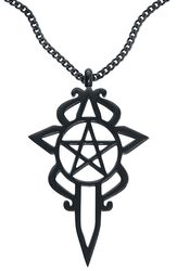 Pentagram Dagger Necklace