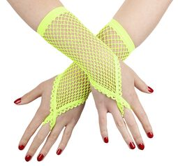 Mesh Gloves with Finger Loop