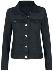 Velcro Girl's Denim Jacket