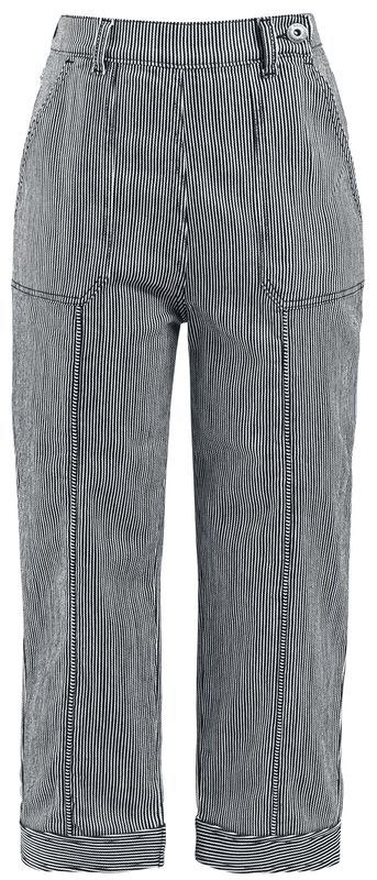 Stripped Capris