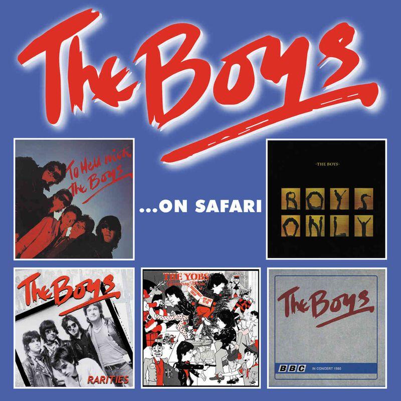 The Boys The Boys...On safari