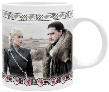 Daenerys and Jon Snow