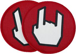 EMP Rockhand Patch - Set di 2