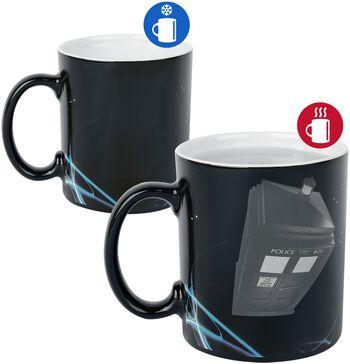 Tardis - Heat-Change Mug