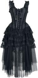 Elaborate Gothic Corset Dress