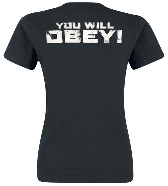 Commento Obey 1 Dalek Shirt T You Will xqPwEPRfY