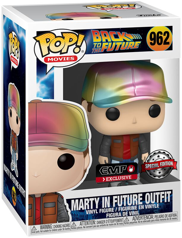 Marty in Future Outfit (Metallic) Vinyl Figur 962