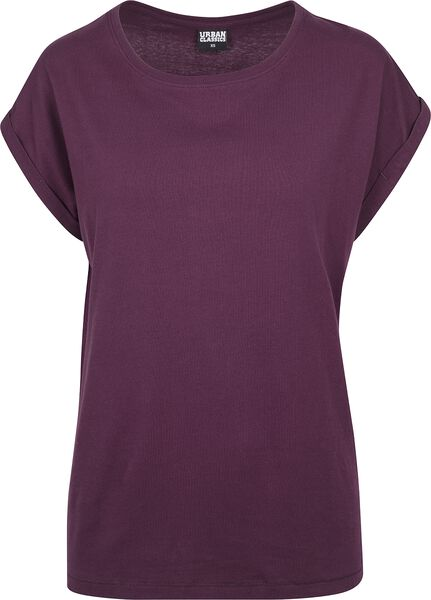 Ladies Extended Shoulder Tee T-Shirt 1 Commento