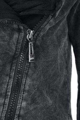 Asymmetric Vintage Zipper