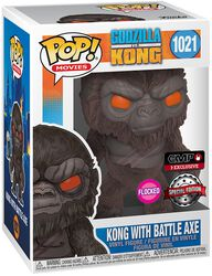 Kong with Battle Axe (Flocked) Vinyl Figure 1021