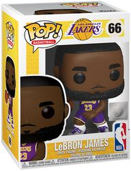 Los Angeles Lakers - Lebron James Vinyl Figure 66