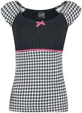 Houndstooth Evie Shirt