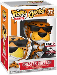 POP Ad Icons: Cheetos - Chester Cheetah (Glitter) Vinyl Figur 77