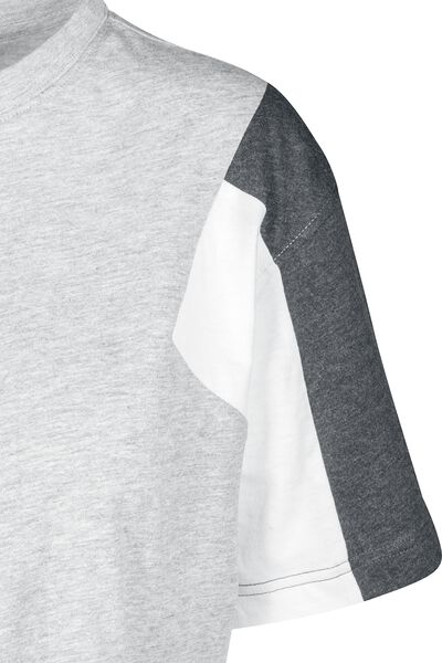 3 Tone T Ladies Oversize Short Shirt Tee gdw4qz4x