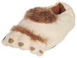 Hairy Hobbit Feet Slippers