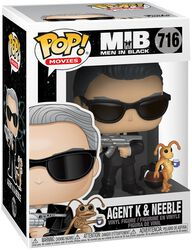 Men in Black Agent K and Neeble Vinyl Figure 716
